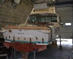 Sensey Nautic - Lège-Cap-Ferret - Restauration d'un RIVA BERTRAM